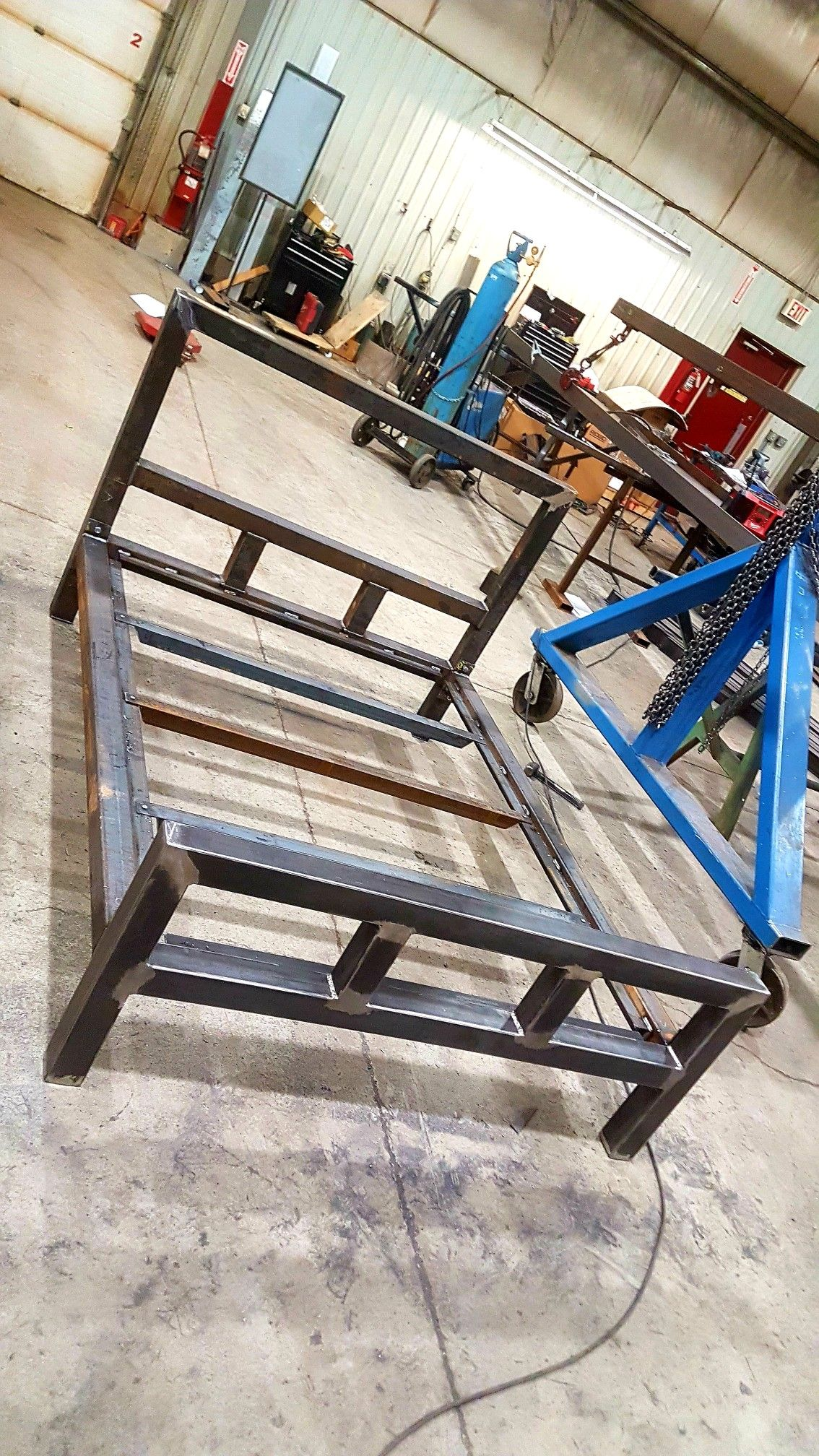 I Was Tired Of A Flimsy Bed So I Made A Heavy Duty Metal Bedframe