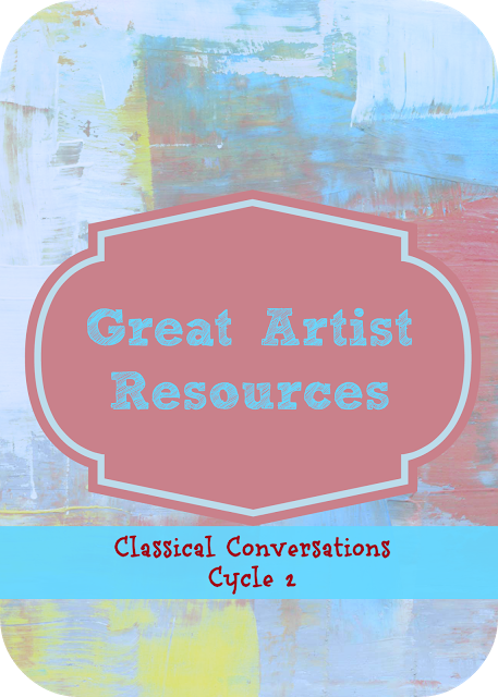 Classical Conversations Cycle 2 Great Artist Resources Nurtu Classical Conversations Foundations Classical Conversations Classical Conversations Homeschool