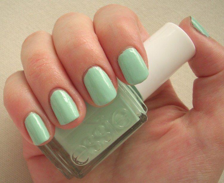 Essie Mint Candy Apple | NAILS ❤ | Pinterest