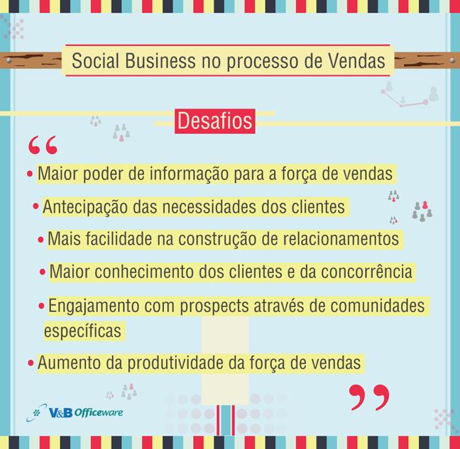 Social Business no processo de Vendas. Para saber mais sobre como se tornar um Social Business, entre em contato conosco!