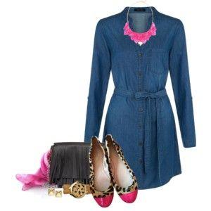 Denim Dress for Spring