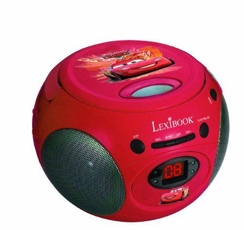Lexibook RCD102DC Disney Cars Radio CD Player