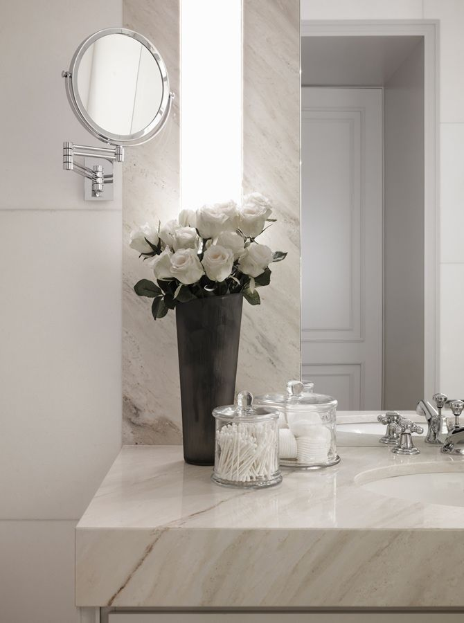 Swiss Chalet By Kelly Hoppen Tempo Da Delicadeza Grey Bathroom Decor Marble Accessories