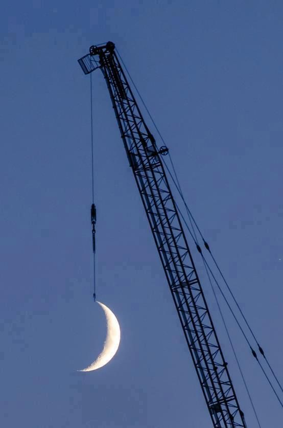 Apunta hacia la luna, aun cuando falles, aterrizarás entre