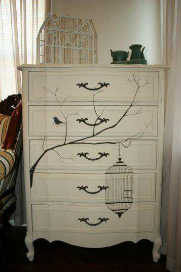 Pin by ann cassity on painted furniture pinterest paint bedrooms cream dressercool furniturepainted sisterspd