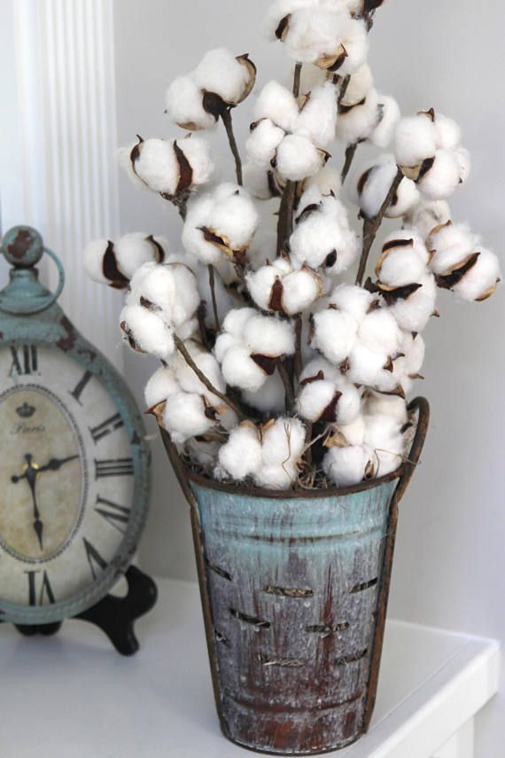 I Love This Rustic Farmhouse Cotton Look Great Gift Idea