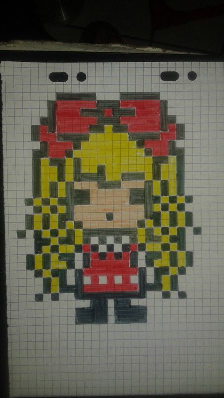 Epingle Par Tetyana Sirovatka Sur Stitching Pixel Art Disney Kawaii Pixel Art Facile