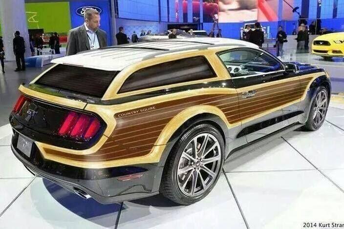 Mustang 2Door Wagon Concept  2Door Wagons  Deliverys