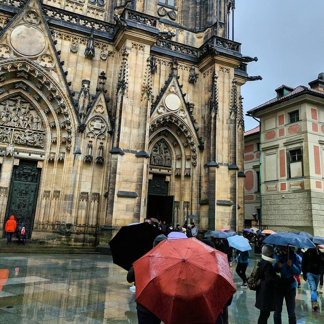 Zu Besuch an der Prager Burg #praguecastle#praha #prague #Prag