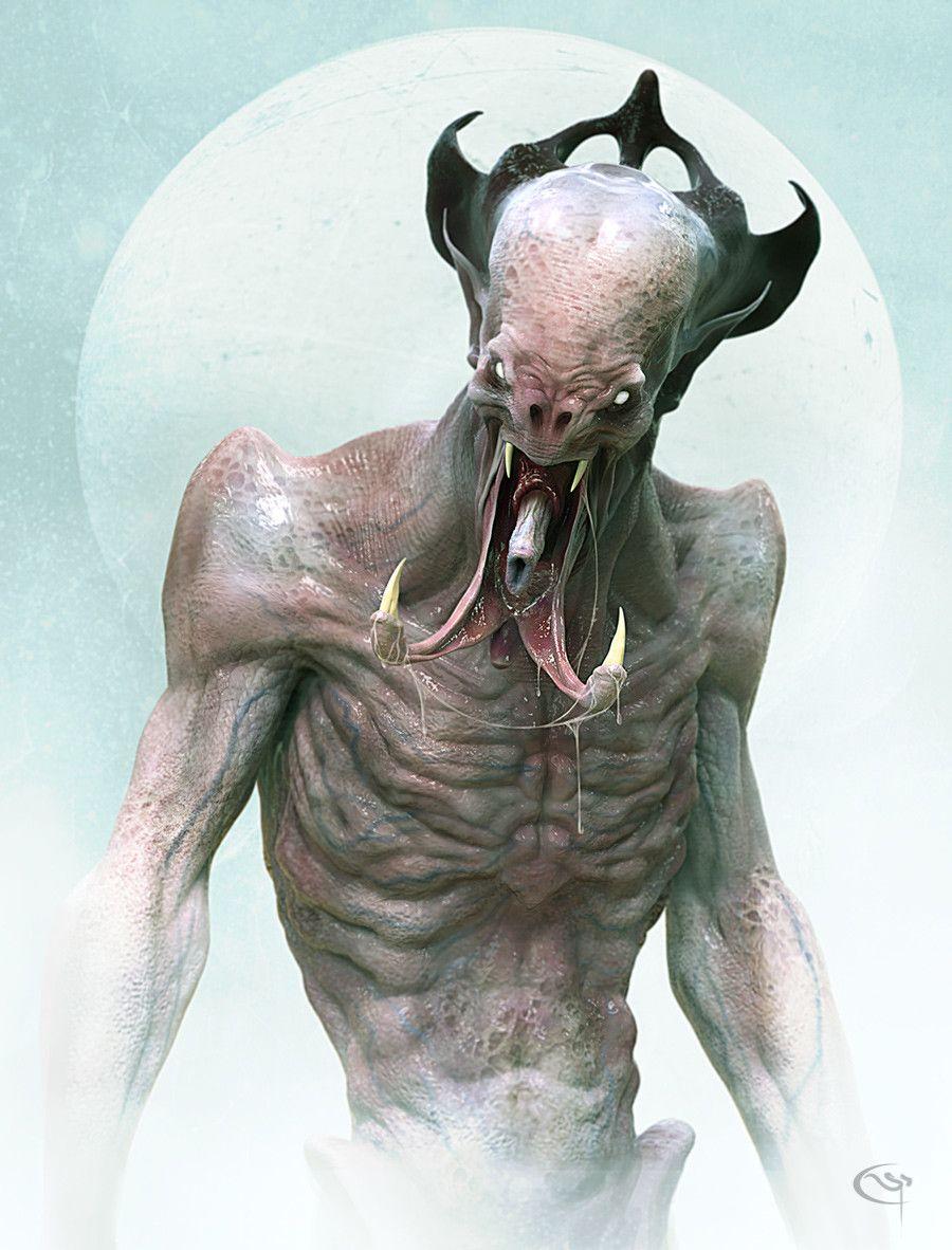 fi monster art Sci