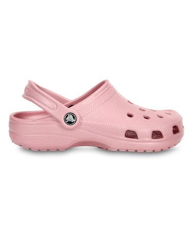e4945f692eb00 Another great find on  zulily! Pearl Pink Classic Clog - Women by ...