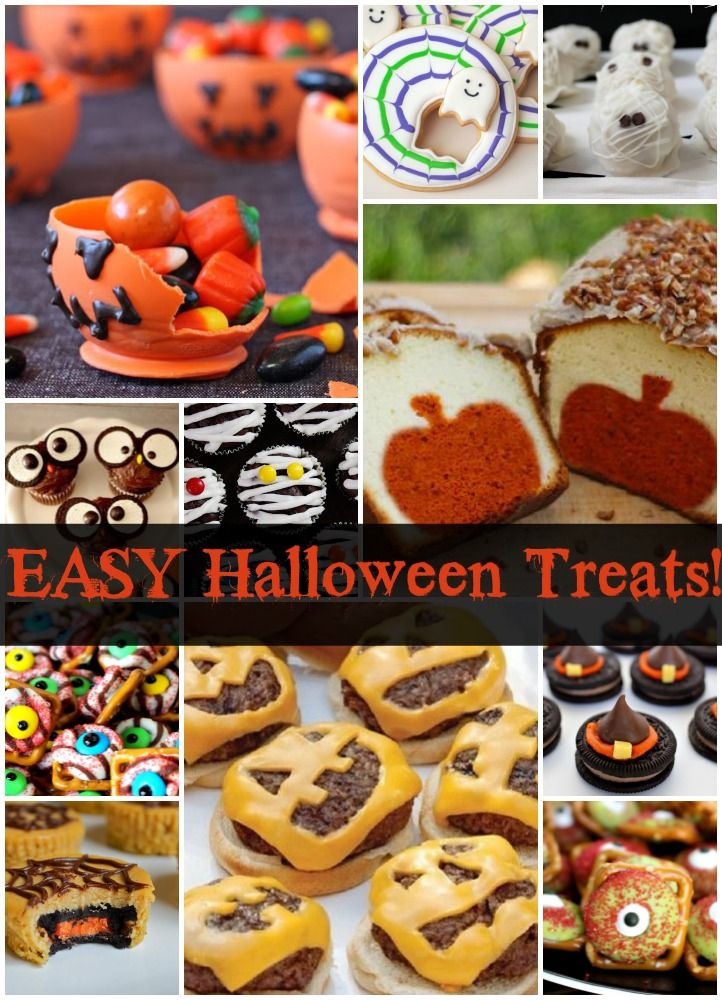 More Great Halloween Treats! (and easy, of course!) Halloween food