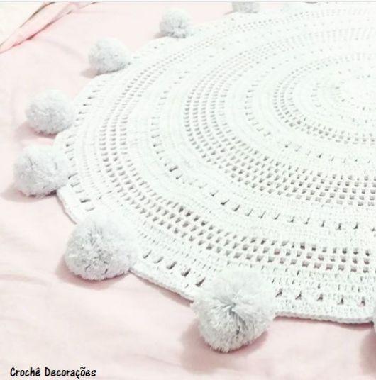 tapete moderno | croché | Pinterest