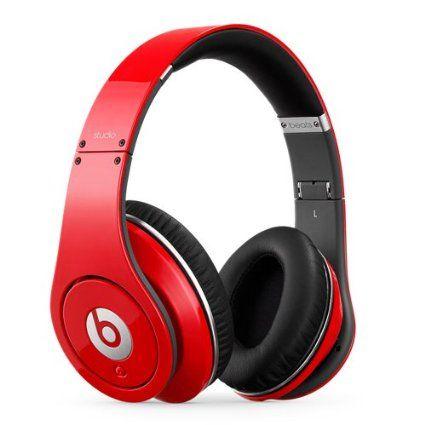 Amazon Com Beats Studio Over Ear Headphone Red Old Version