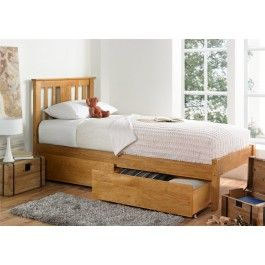 Perfect For Both Children And Adults A Like The Malmo Oak Bed Is A Versatile Design That Will Wor Single Bed