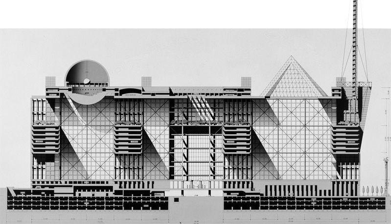 New tokyo city hall arata isozaki japan 1985 86 - Architektur tokyo ...