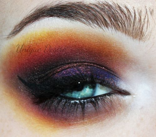 "Sugarpill's ""Burning Heart"" palette and Fyrinnae's ""Mephisto"". - Ha ha, I'd recognize Burning Heart  anywhere!"