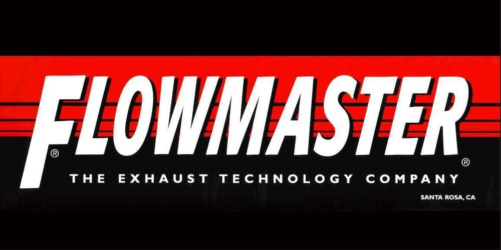 Flowmaster Genuine Logo 2x4 Racing Car Auto Garage Shop Vinyl Banner Sign Art Vinyl Banners Banners Signs Garage Shop