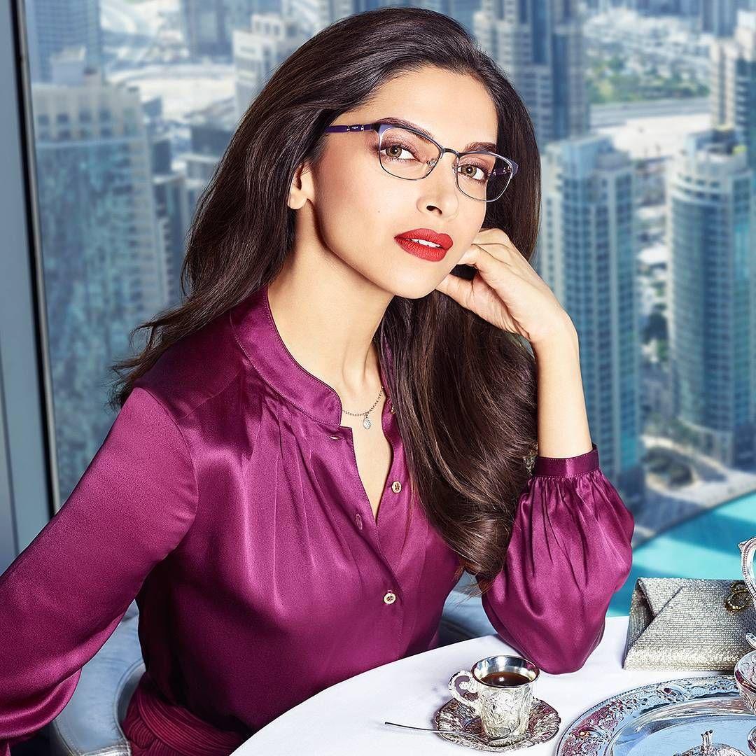 08c13c258613 Deepika Padukone for Vogue Eyewear
