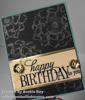 Artistic Embellishments Handmade Birthday Cards Birthday Cards Birthday Stamps