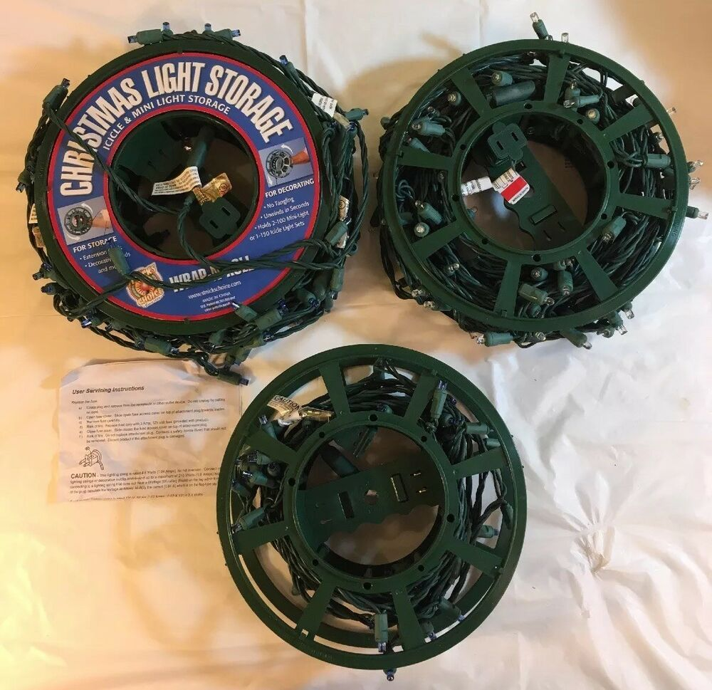 Holiday Storage Reels 3 In A Bag Comes With Christmas Lights Blue White Thechristmaslightcompany Chris In 2020 Holiday Storage Christmas Lights Blue And White