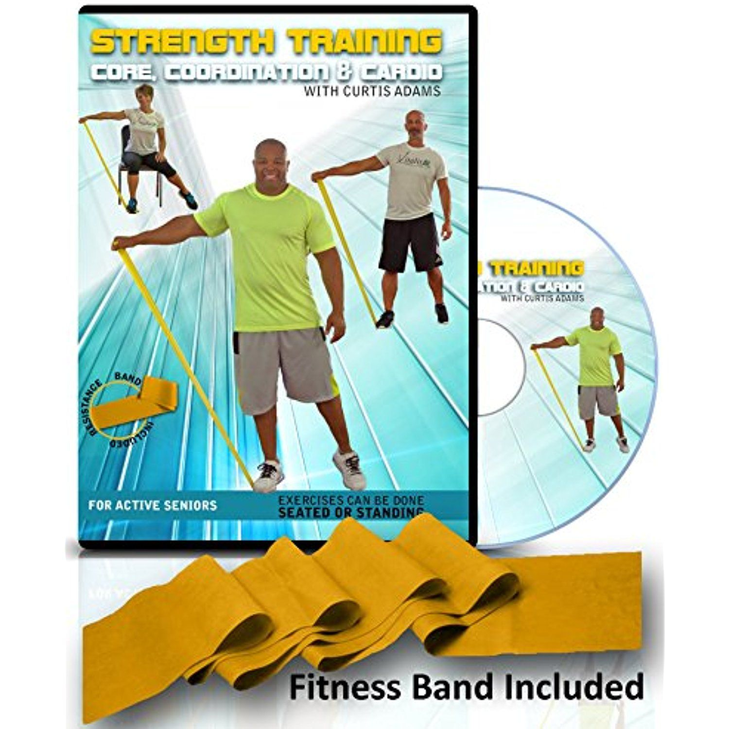 Senior Exercise Video Fitness Dvd Strength Training Core Coordination Exercisefitness Senior Fitness Aerobics Workout Workout Book