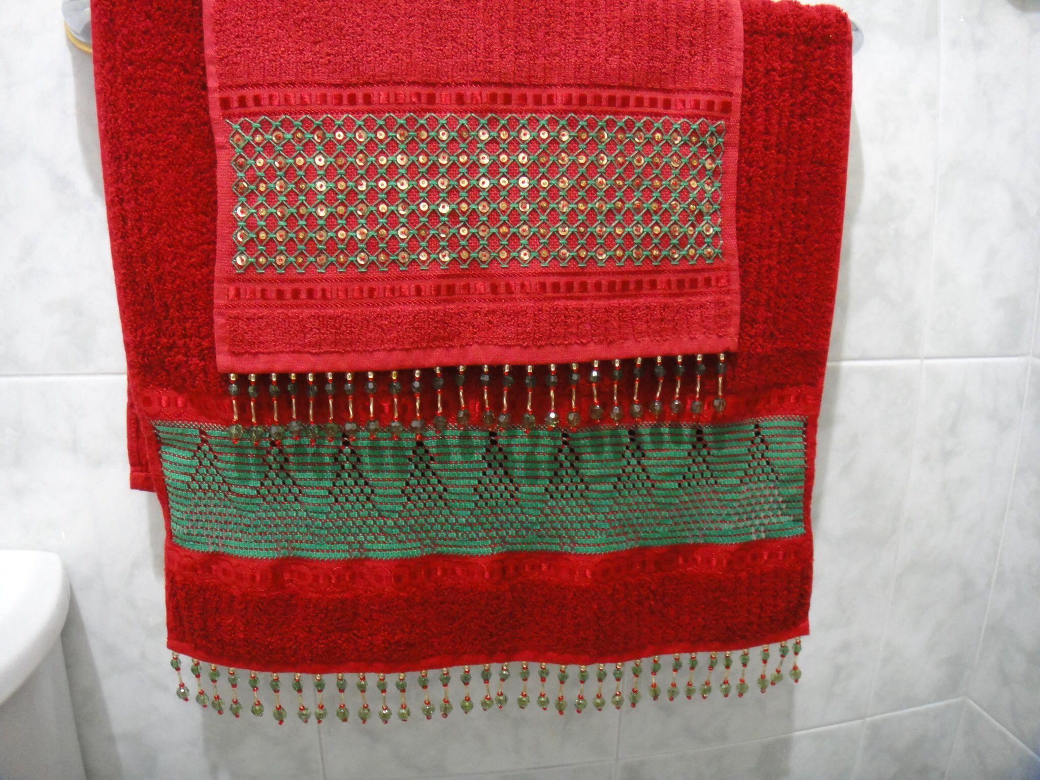 Mireska   toallas bordadas   Pinterest   Decorar baños, En navidad y ...