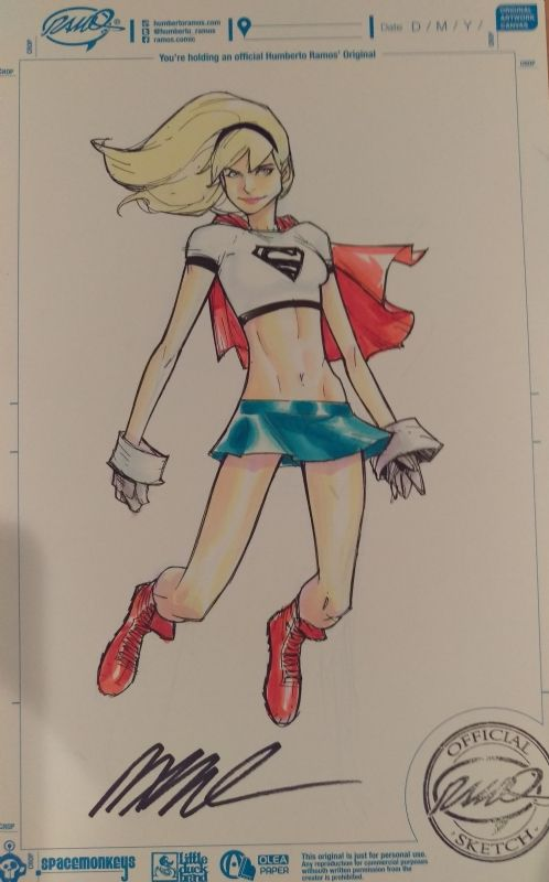 Supergirl by Humberto Ramos *