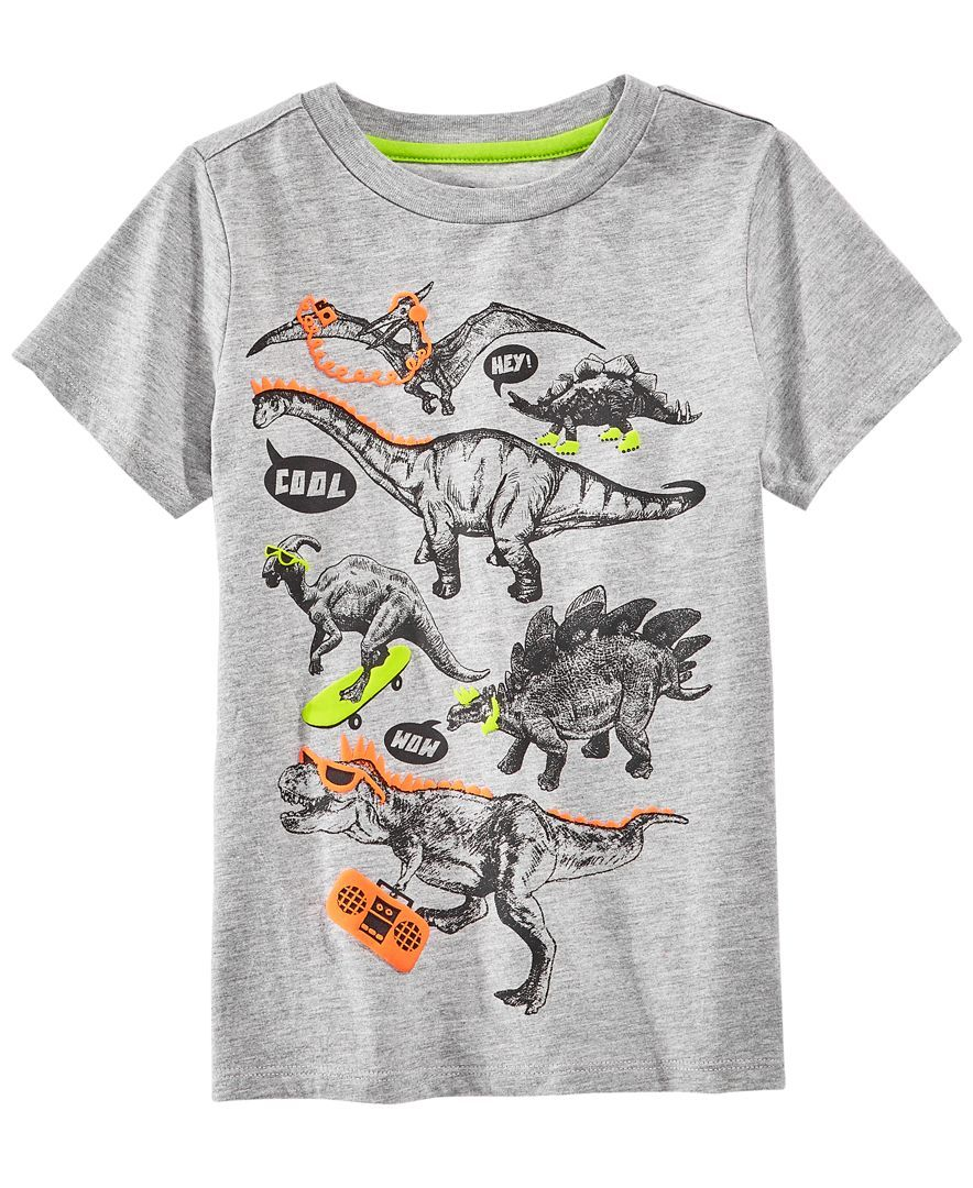 824237506df2 Epic Threads Dinosaur Graphic-Print T-Shirt, Little Boys, Created for Macy's