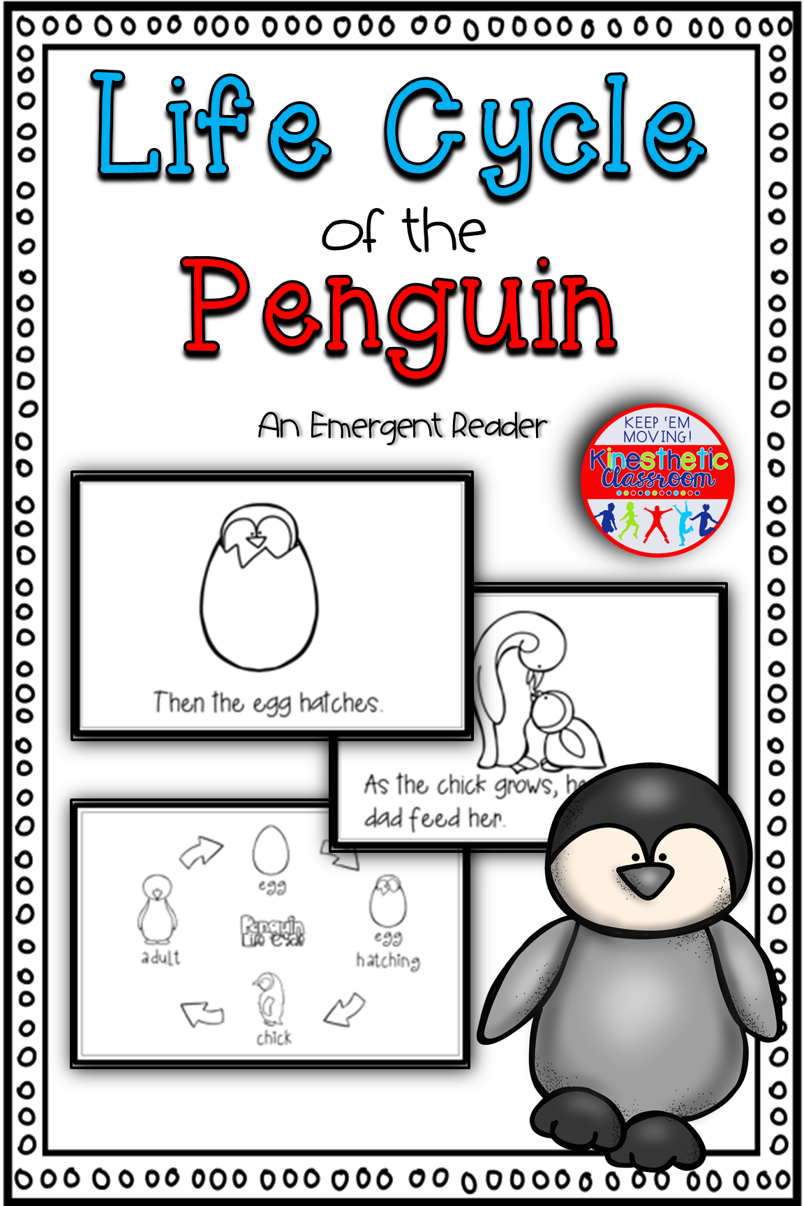 Life Cycle Of The Penguin Science Reader