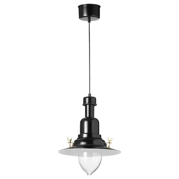 Ottava Lampada A Sospensione Nero In 2020 Anhanger Lampen Beleuchtung Decke Und Fintorp