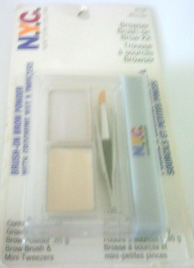 Browser Brush On Brow Kit 875a Nyc Browser Brush On Brow Kit