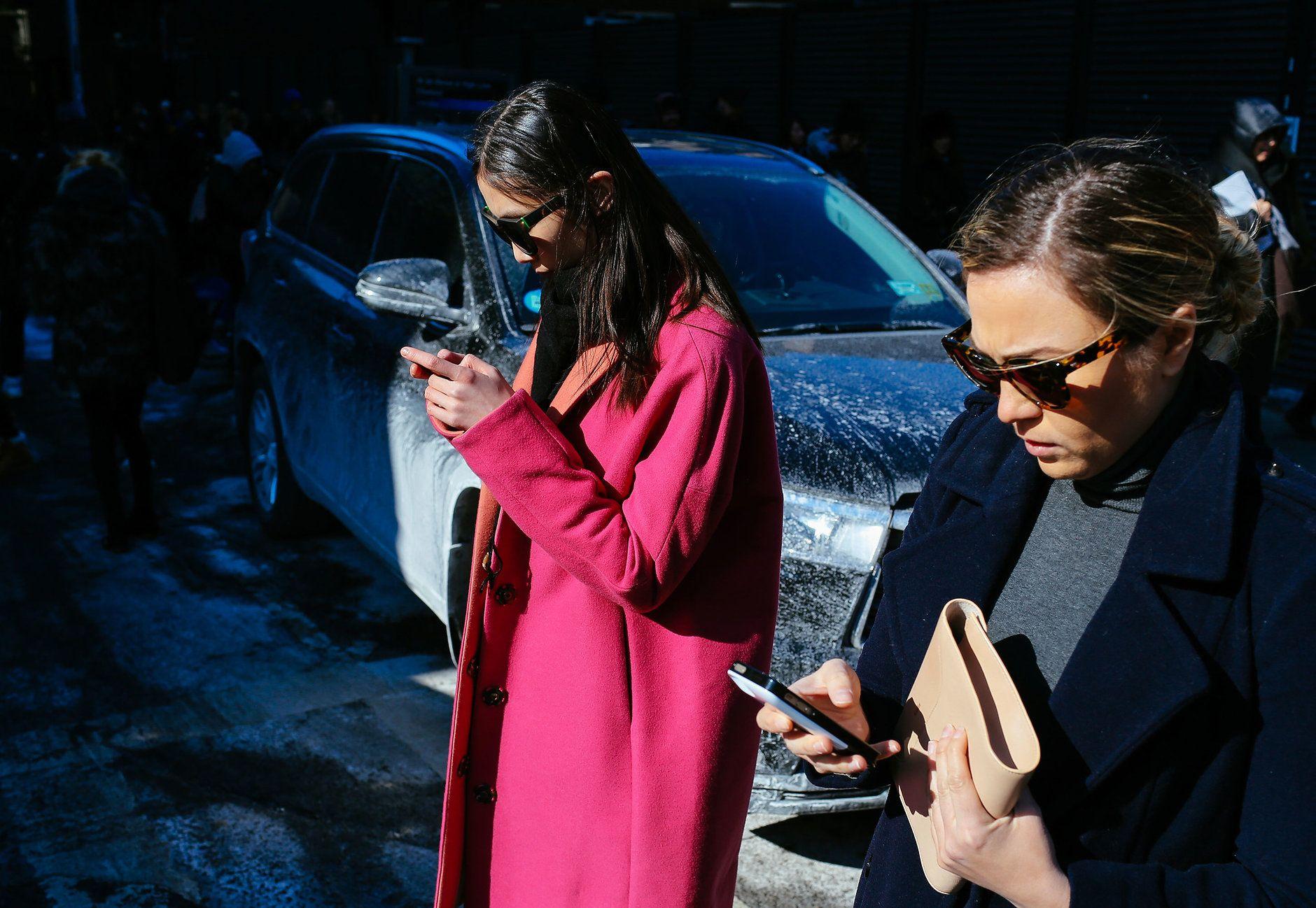 Street Style: New York Fashion Week Fall 2015 – Vogue