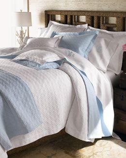 29E5 SFERRA King Tara Blanket King Cane Matelasse Coverlet Full/Queen Cane Matelasse  Coverlet