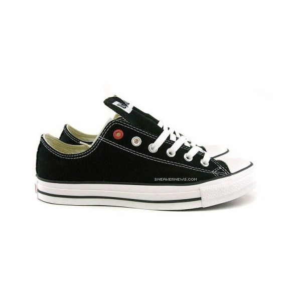 Converse Product (RED) Chuck Taylor Low OX – Black + Red |.. Red ChucksConverseChuck  TaylorsOxShoes ...