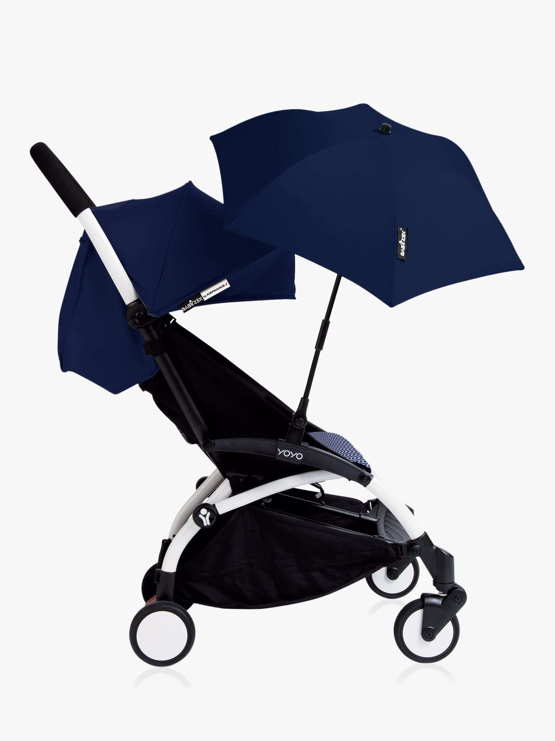 BABYZEN YOYO+ New Pushchair Parasol Blue, Navy blue, Prams