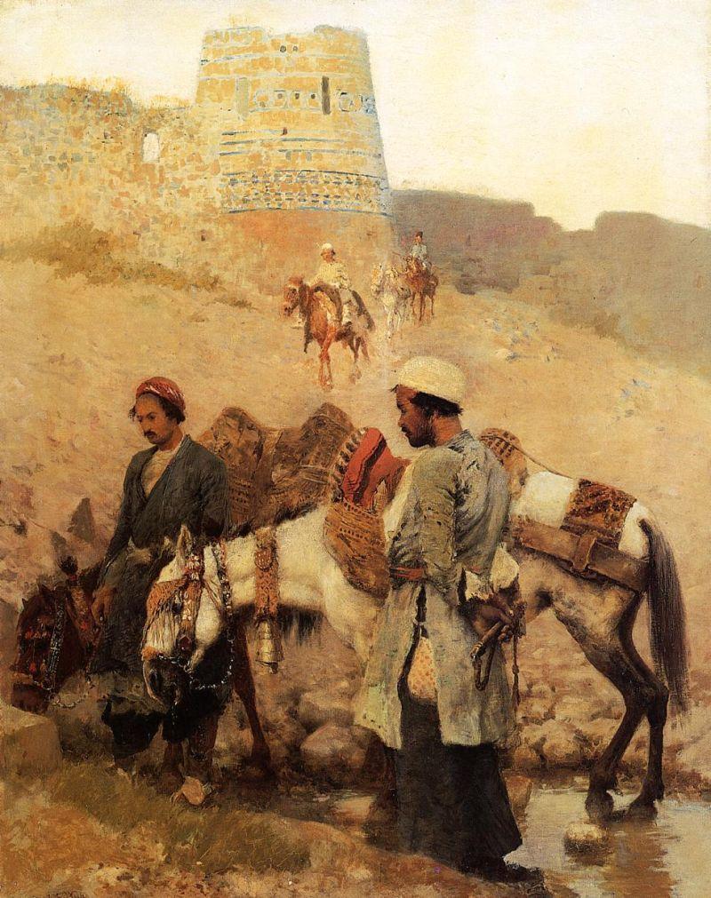 "Edwin Lord Weeks. ""Viajando por Persia"". 189"