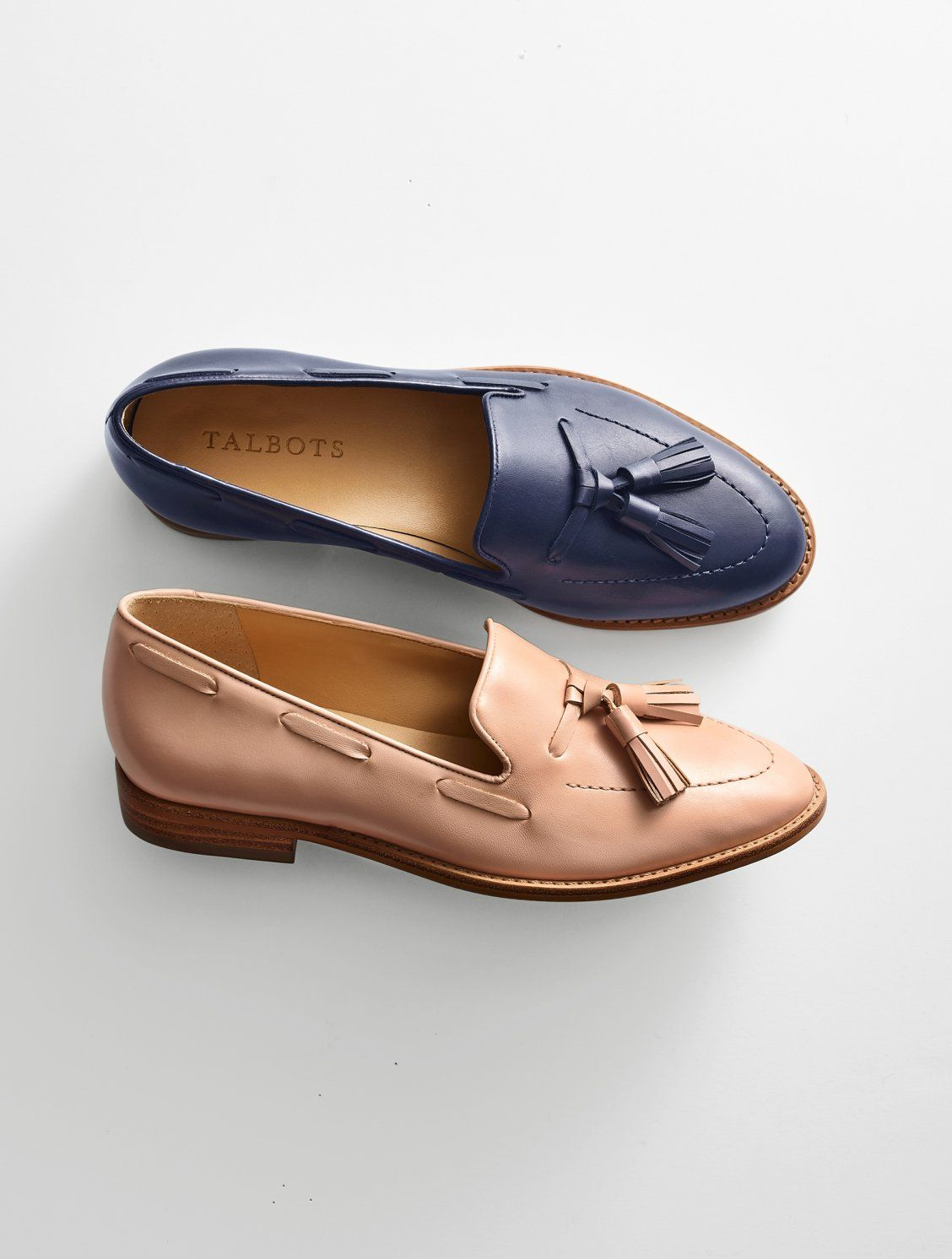 74cb4220646eb Our new Leighton loafers feature classic tassel detail and a stylish  pointed toe. With a memory foam footbed and breathable lining, you can wear  them all ...