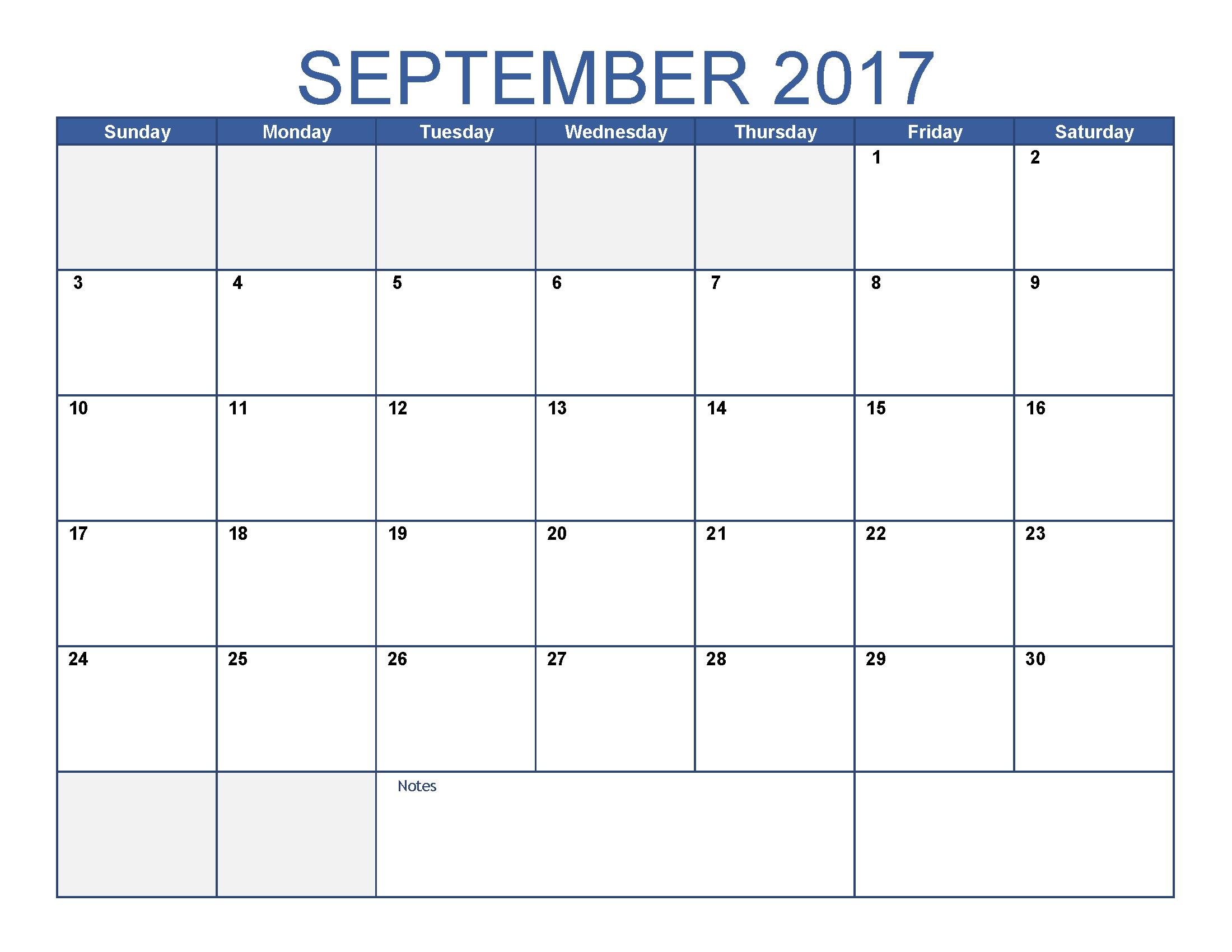 Pin Oleh Dailyprintable Di September Calendar Printable