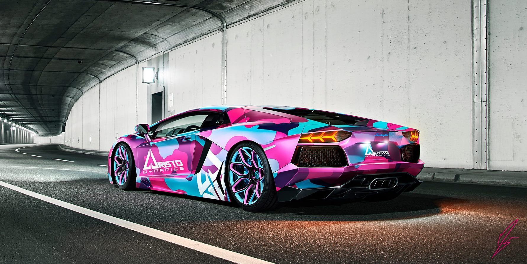 Awesome Design By Millergo Cg For Aristo Dynamics Car Wrap Design