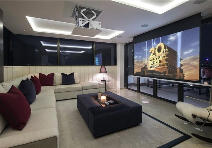 Property For Sale Queens Court 4 8 Finchley Road St John S Wood London Nw8 Knight Fra Home Theater Room Design Home Cinema Room Home Design Floor Plans