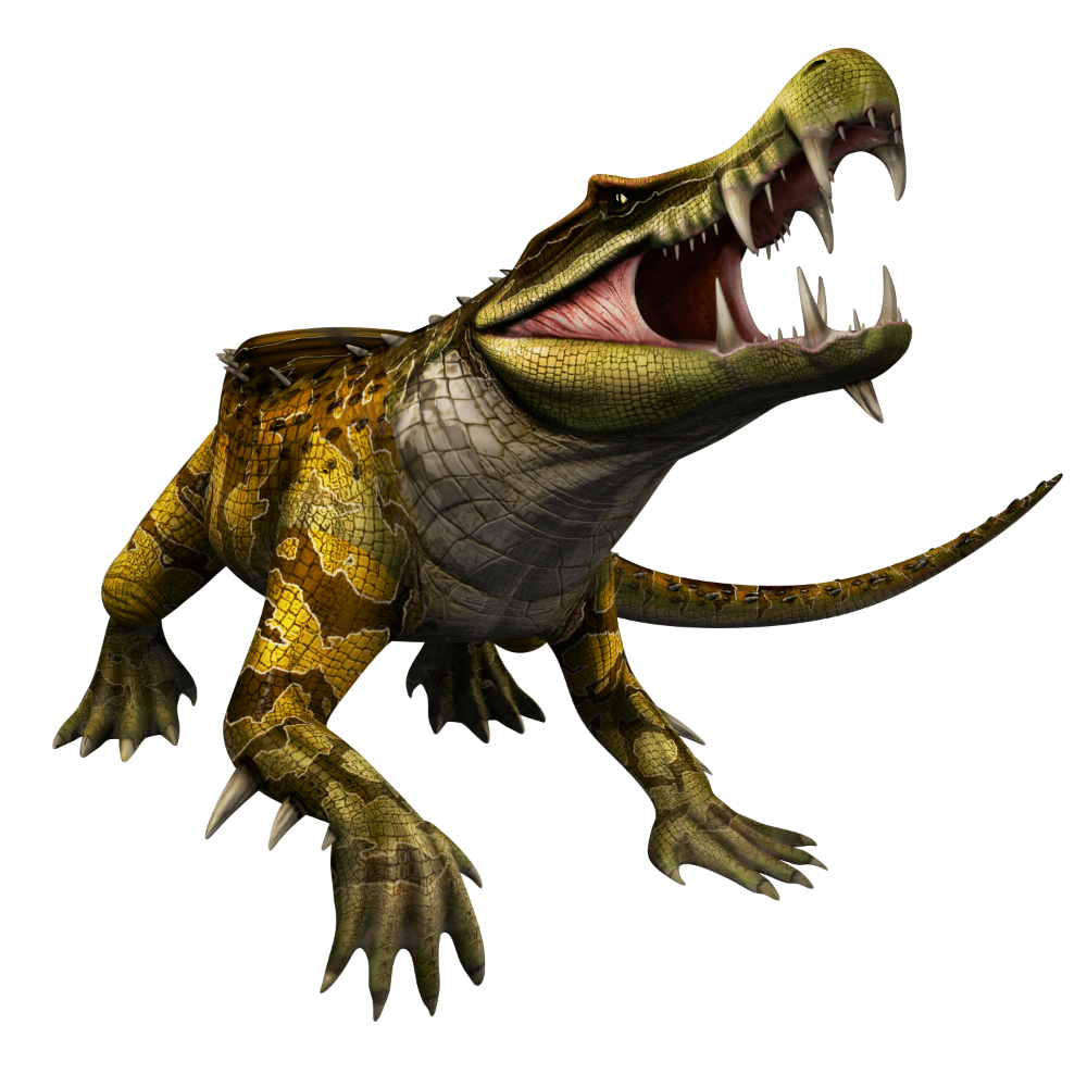 Kaprosuchus Jurassic World Alive Wiki GamePress en