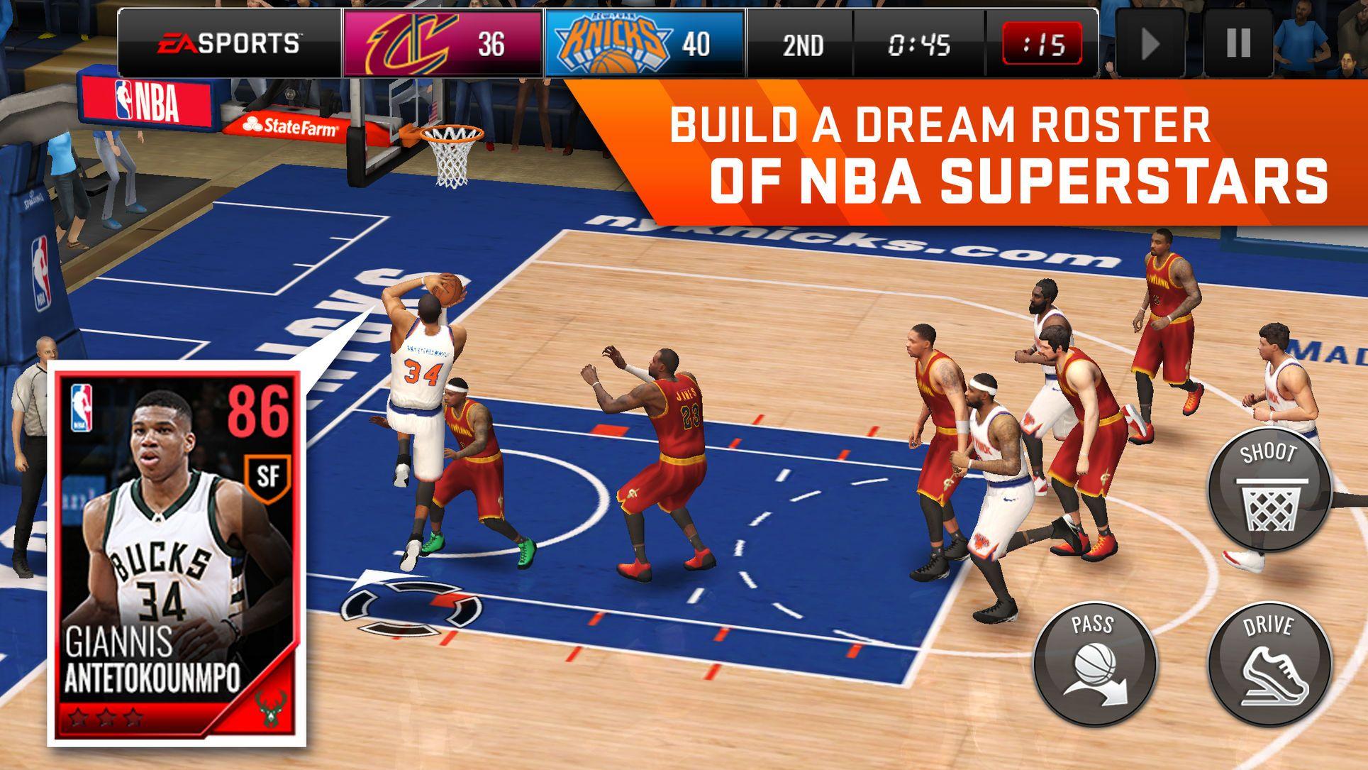 Nba Live Mobile Basketball Games Arts Sports Ios Nba Live Basketball Nba