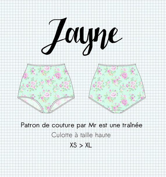 ba89443f6ceed Patron de couture lingerie PDF,