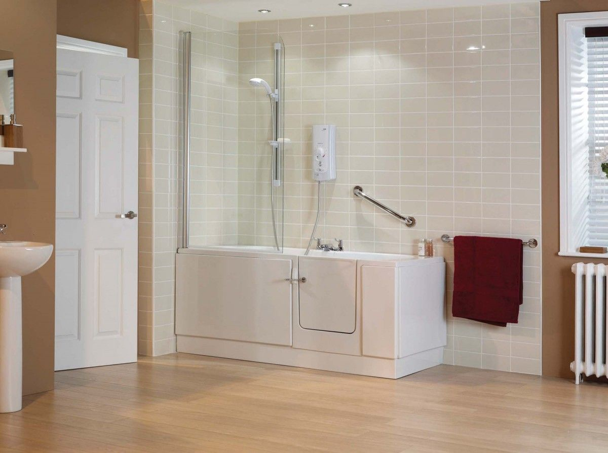 Disabilityliving Find Tips For Accessible Showers At Disabledbathrooms Org Shower Stall Enclosures Replace Shower Door Replace Shower