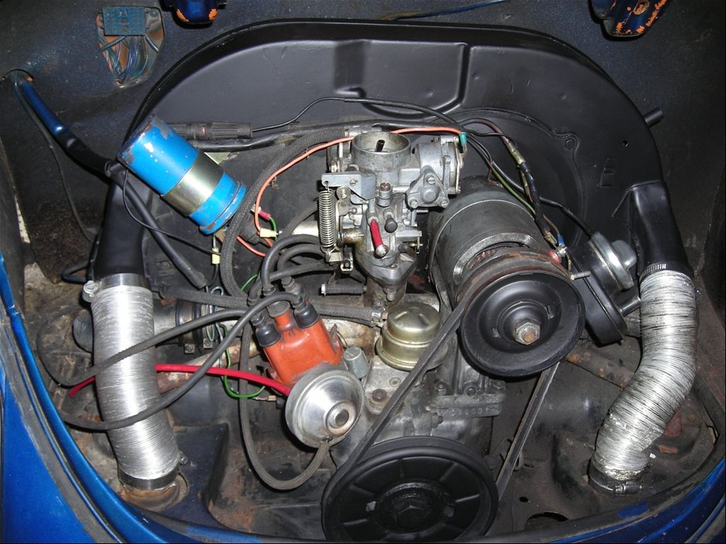 1973 vw super beetle engine am looking to get this motor rebuilt to make it more powerful so Vw crate motor