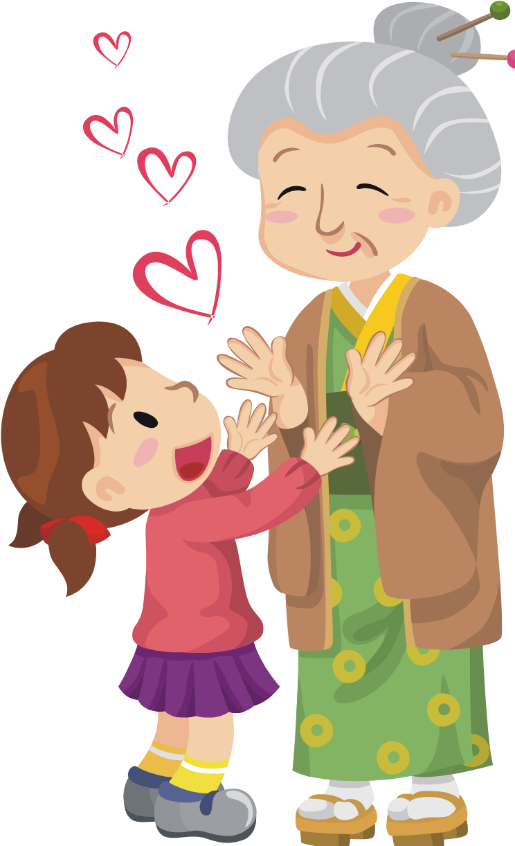 How Older Women Can Serve Cartoon Grandma Birthday Illustration Mom Art