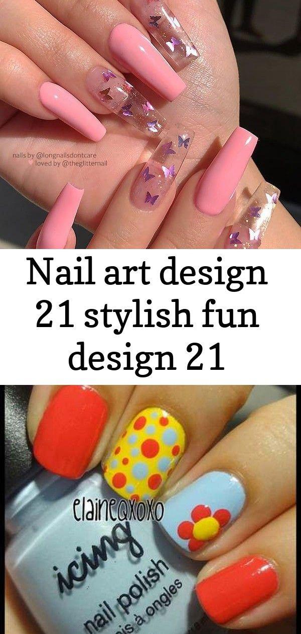 Nail art design 21 stylish fun design 21