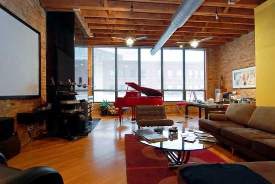 If Youu0027re Going To Live In Chicago, Find A Nice Exposed Brick Loft