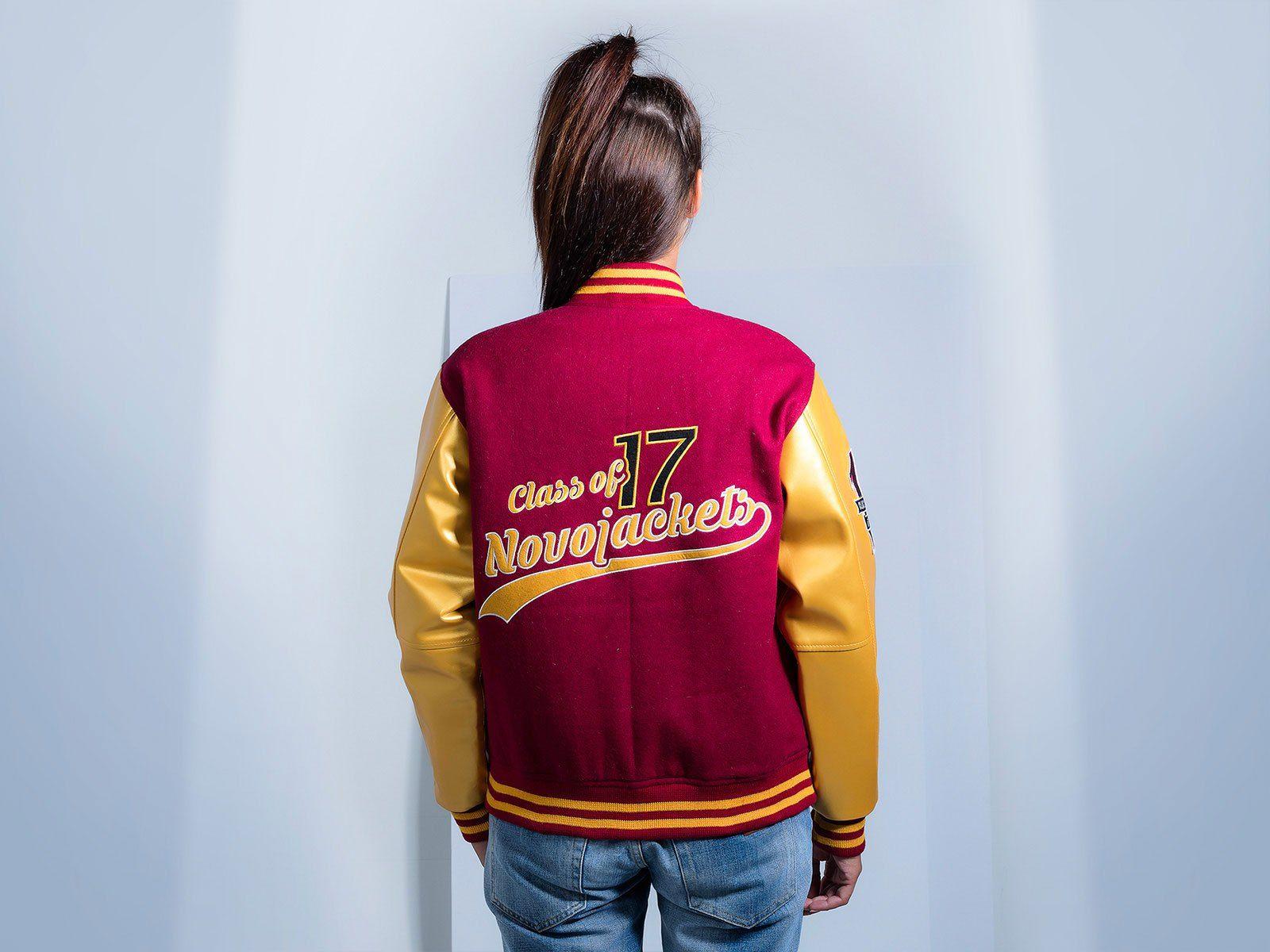 Women Custom Varsity Jacket Custom varsity jackets